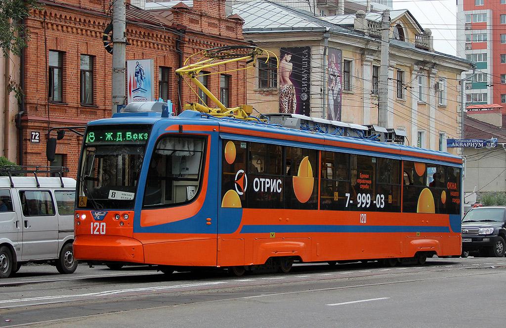 Хабаровск. 71-623-02 (КТМ-23) №120