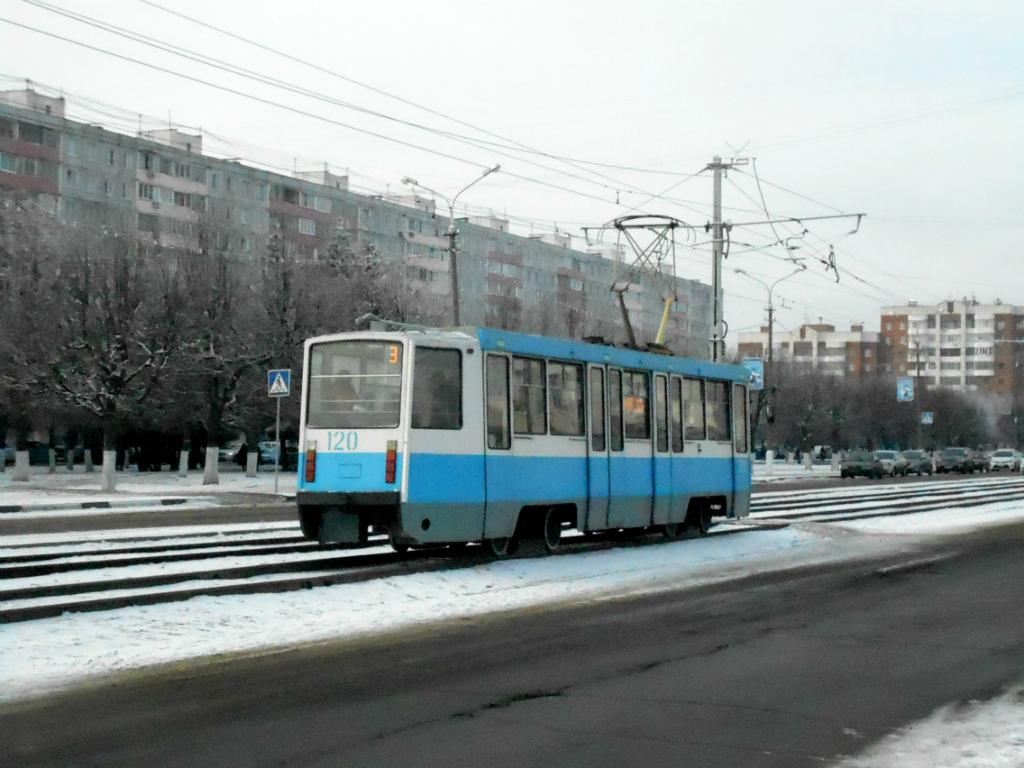 Коломна. 71-608КМ (КТМ-8М) №120