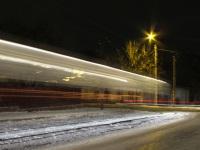 Николаев. Ночной трамвай