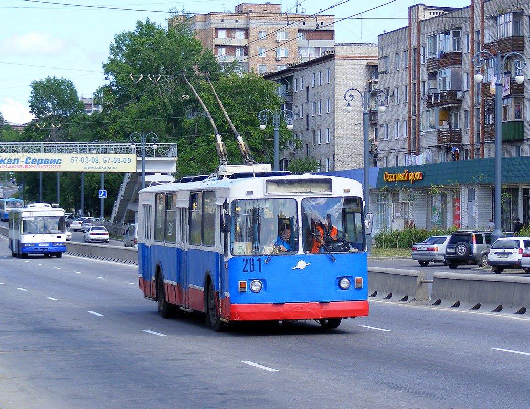 Хабаровск. ЗиУ-682В-013 (ЗиУ-682В0В) №281