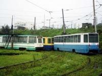 Владивосток. 71-132 (ЛМ-93) №322, 71-608К (КТМ-8) №299, 71-608К (КТМ-8) №300