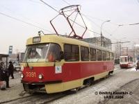 Москва. Tatra T3 (МТТЧ) №3391