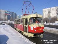 Москва. Tatra T3 (МТТЧ) №3395
