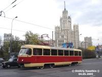 Москва. Tatra T3 (МТТЕ) №1307