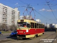 Москва. Tatra T3 (МТТЧ) №3399