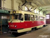 Москва. Tatra T3 (МТТЧ) №3423