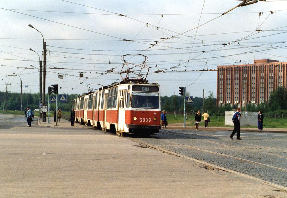 Санкт-Петербург. ЛВС-86К №3009, ЛВС-86К №3010