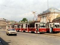 Санкт-Петербург. ЛВС-86К №3053, ЛВС-86К №3050, ЛМ-68М №4613