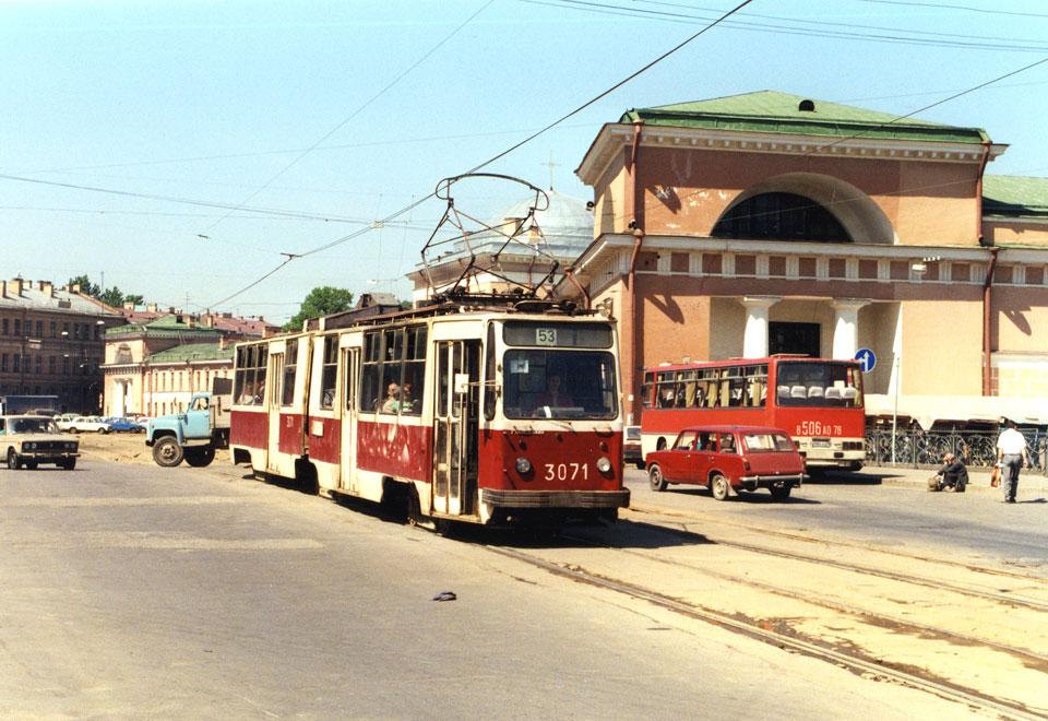 Санкт-Петербург. ЛВС-86К №3071, Ikarus 256 в506ао