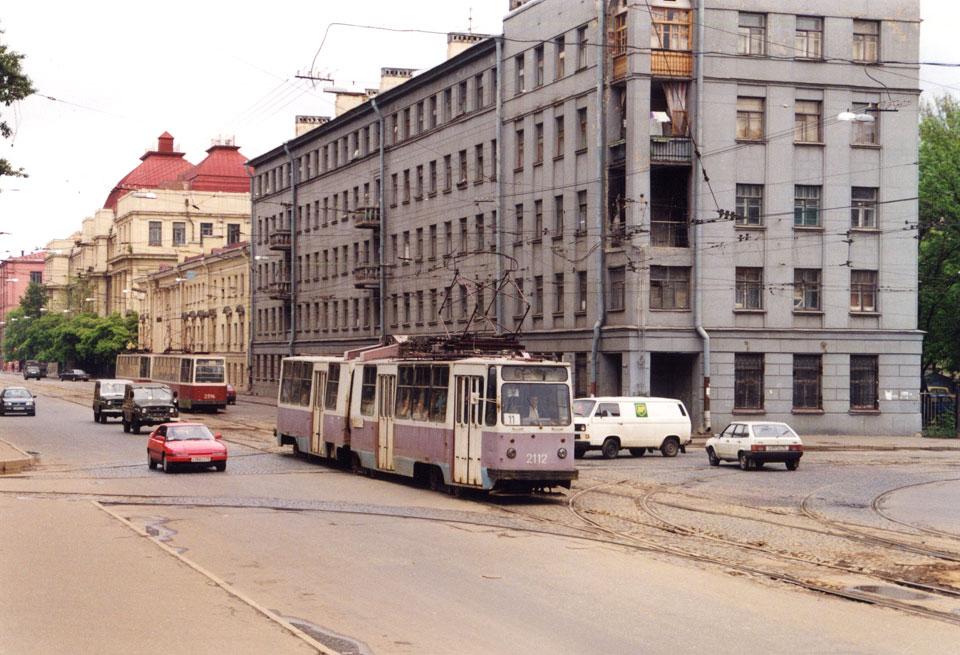 Санкт-Петербург. ЛВС-86К №2112