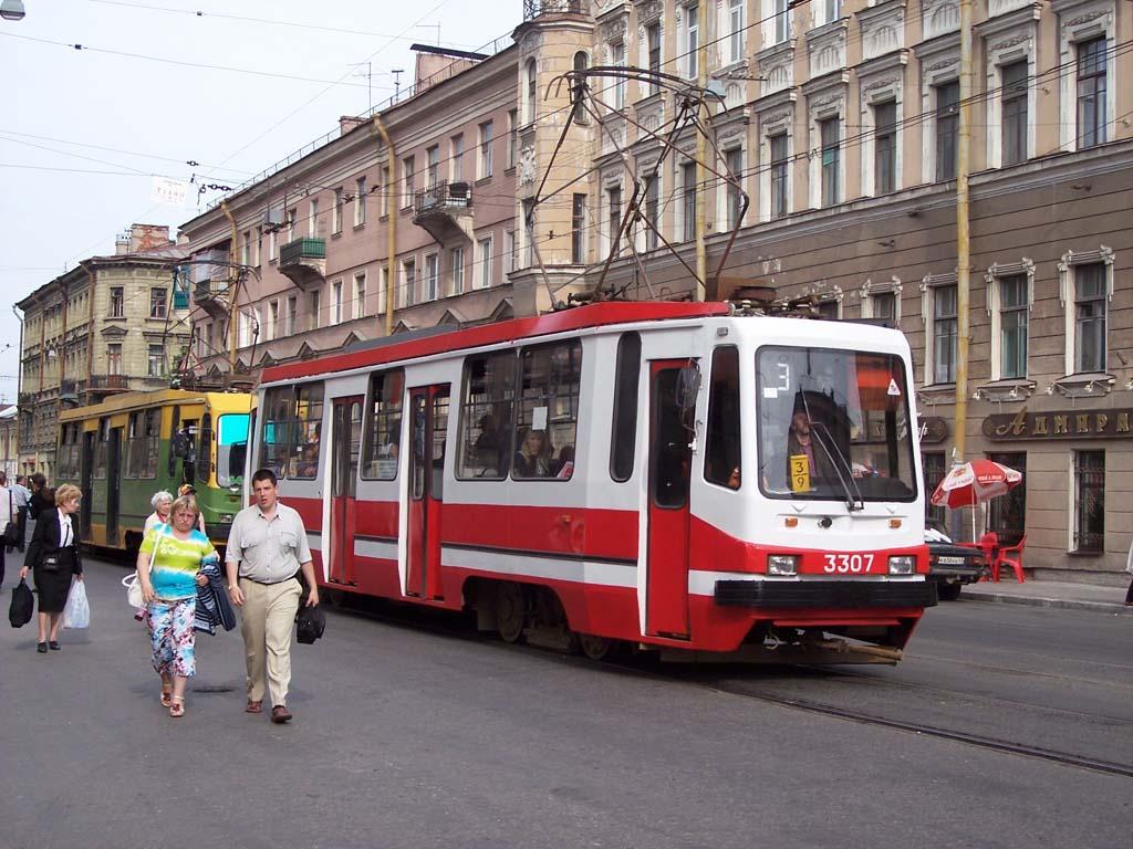 Санкт-Петербург. 71-134К (ЛМ-99К) №3307