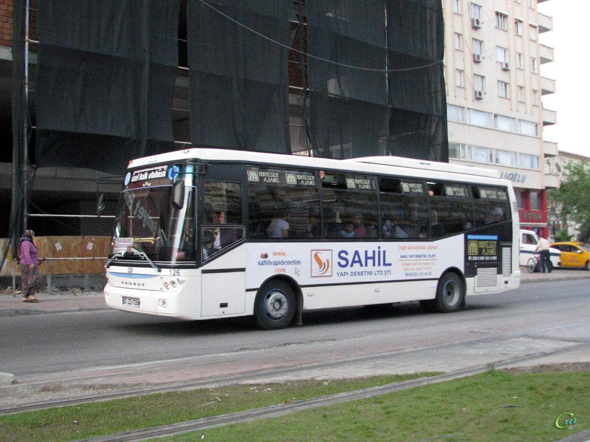 Анталья. BMC Probus 07 ZZ 726