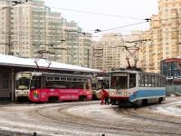 Москва. 71-608КМ (КТМ-8М) №1267, 71-619А (КТМ-19А) №1140