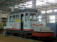 Таллин. Двухосный моторный вагон №T-8