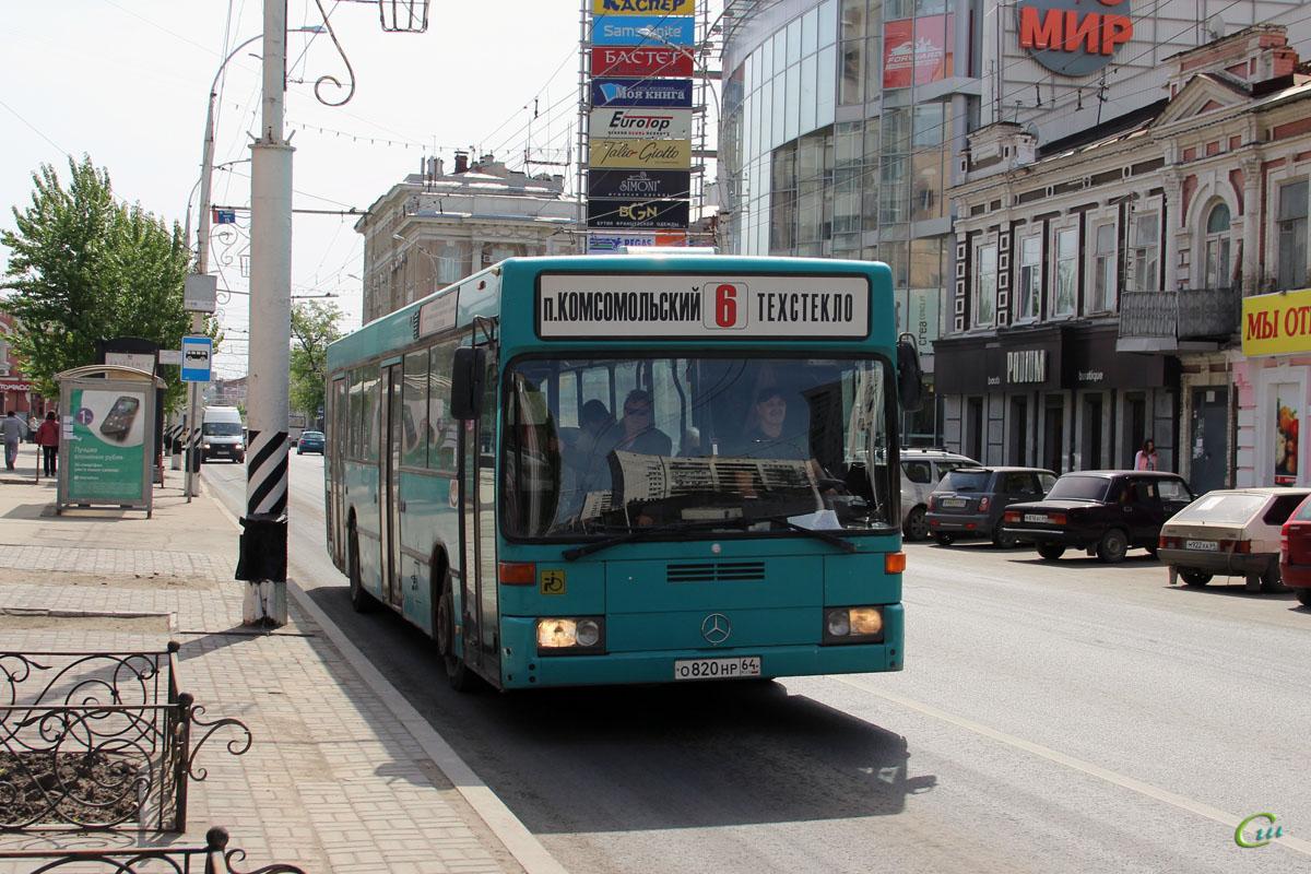 Саратов. Mercedes O405N о820нр