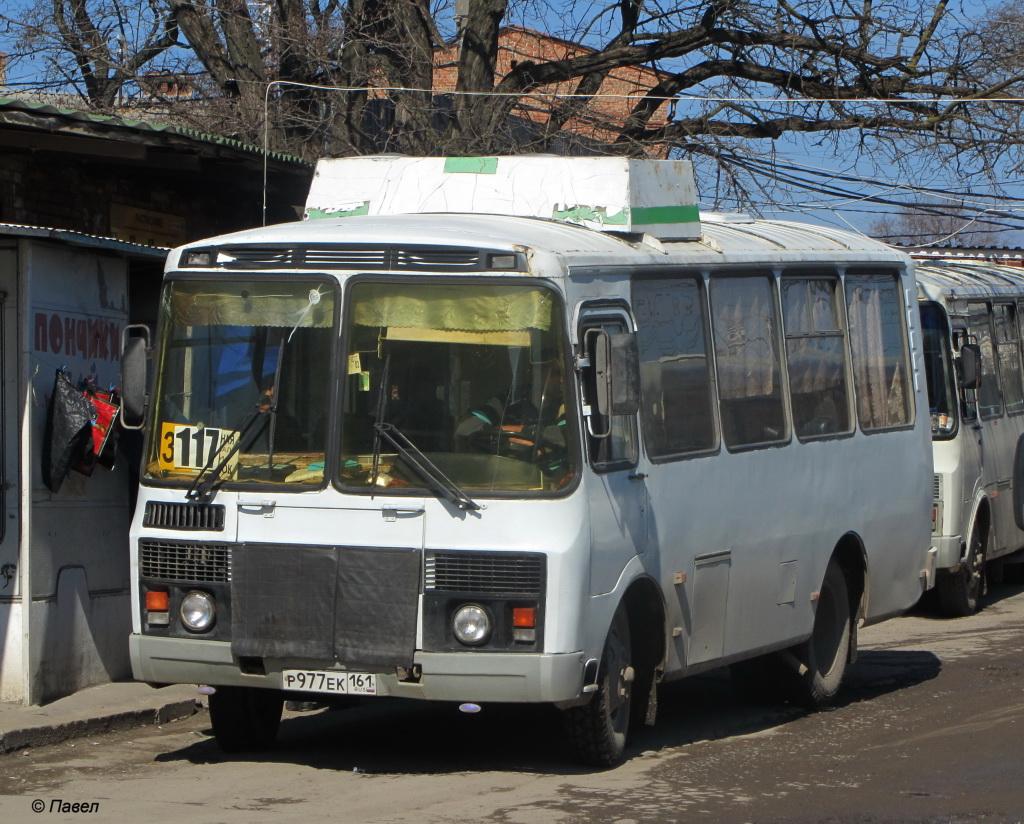 Таганрог. ПАЗ-3205-110 р977ек