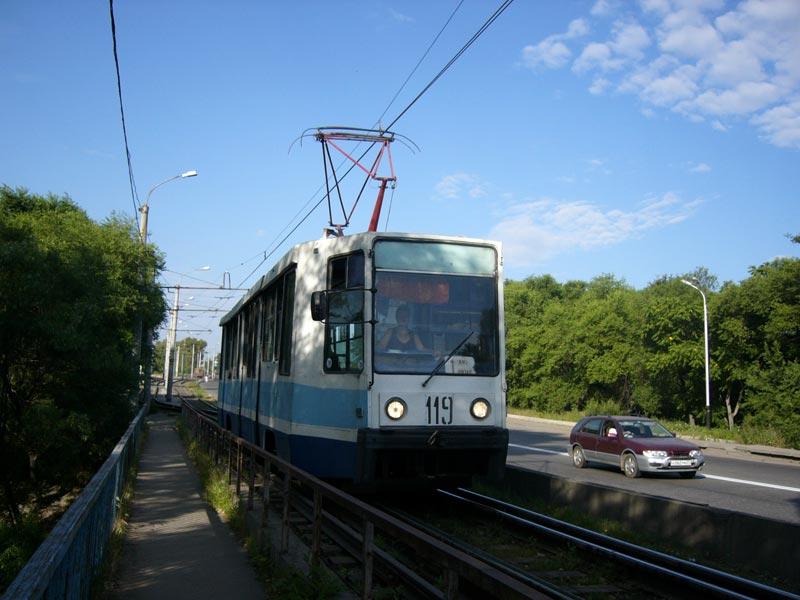 Хабаровск. 71-608К (КТМ-8) №119