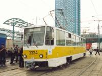 Москва. Tatra T7B5 №3324