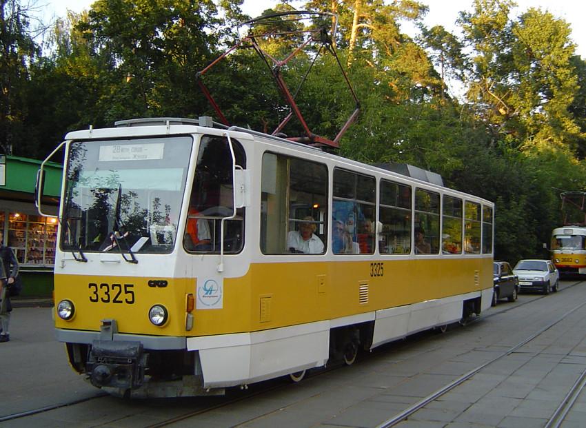 Москва. Tatra T7B5 №3325