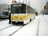 Москва. Tatra T7B5 №3321