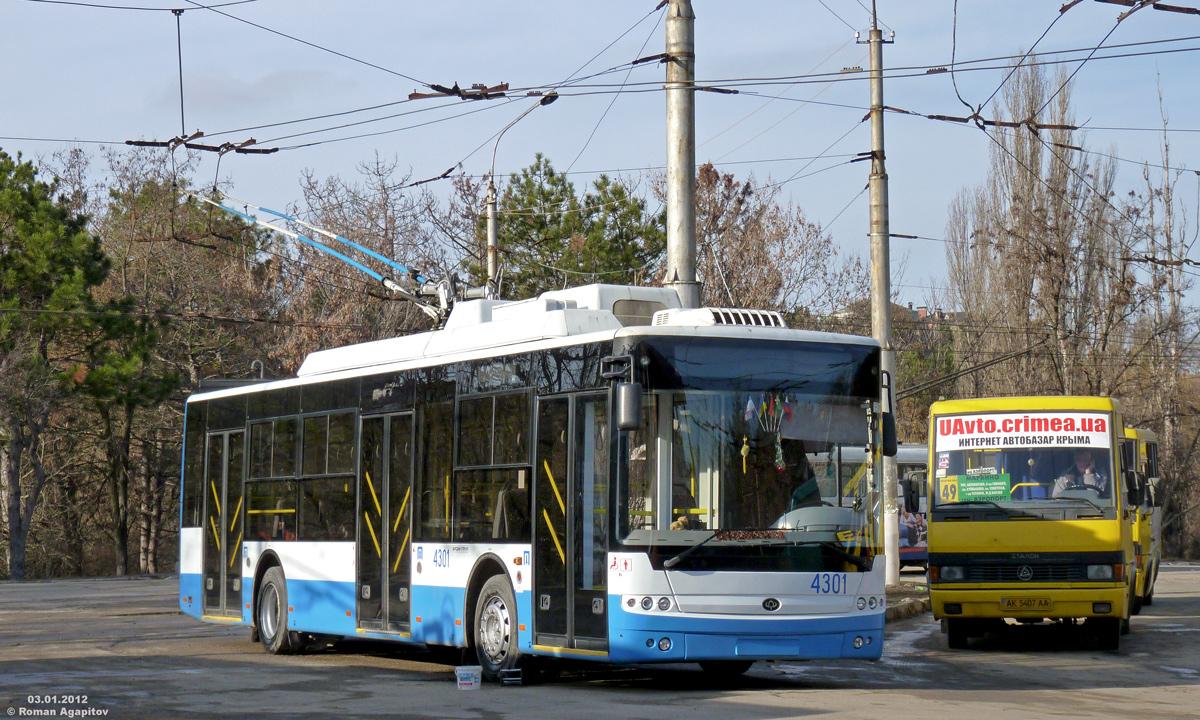Крым. Богдан Т70110 №4301