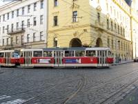 Прага. Tatra T3 №8484, Tatra T3 №8485