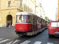 Прага. Tatra T3 №8547