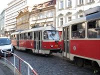 Прага. Tatra T3 №8017