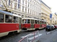 Прага. Tatra T3 №8016, Tatra T3 №8017