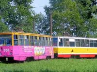 Хабаровск. 71-605 (КТМ-5) №358, 71-605 (КТМ-5) №377