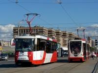 Санкт-Петербург. 71-134А (ЛМ-99АВН) №1363, 71-153 (ЛМ-2008) №1427