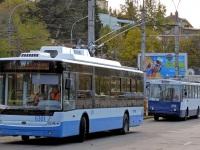 Крым. Škoda 14Tr11/6 №6156, Богдан Т70110 №6301