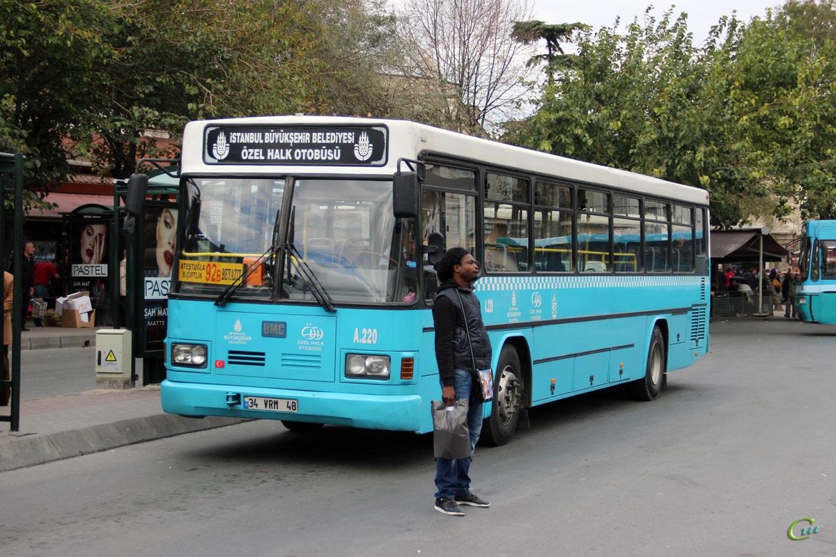 Стамбул. BMC Belde 34 VRM 48