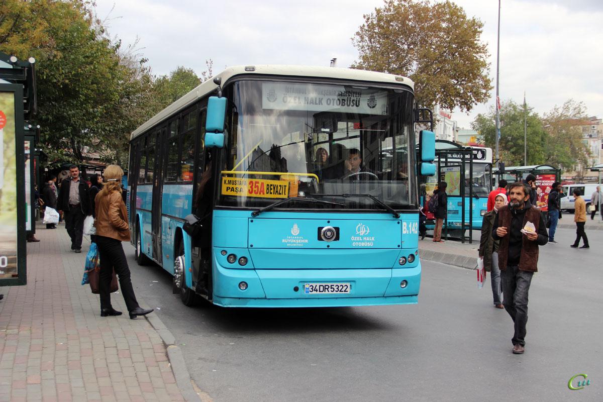 Стамбул. BMC Belde 34 DR 5322