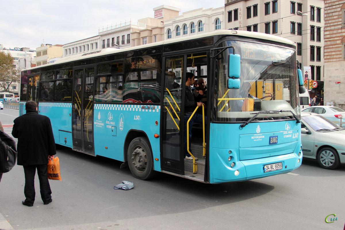 Стамбул. BMC Belde 34 BL 6656