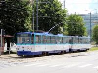 Рига. Tatra T6B5 (Tatra T3M) №35130, Tatra T6B5 (Tatra T3M) №35141