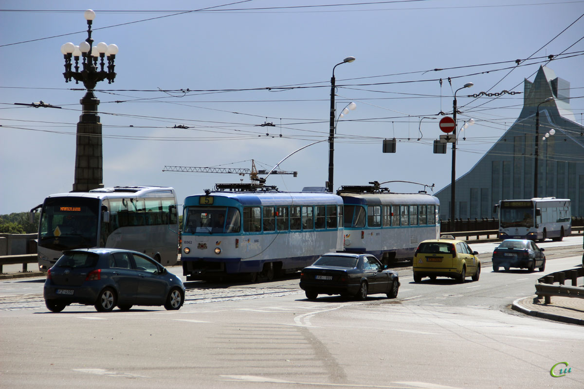 Рига. Tatra T3A №30362
