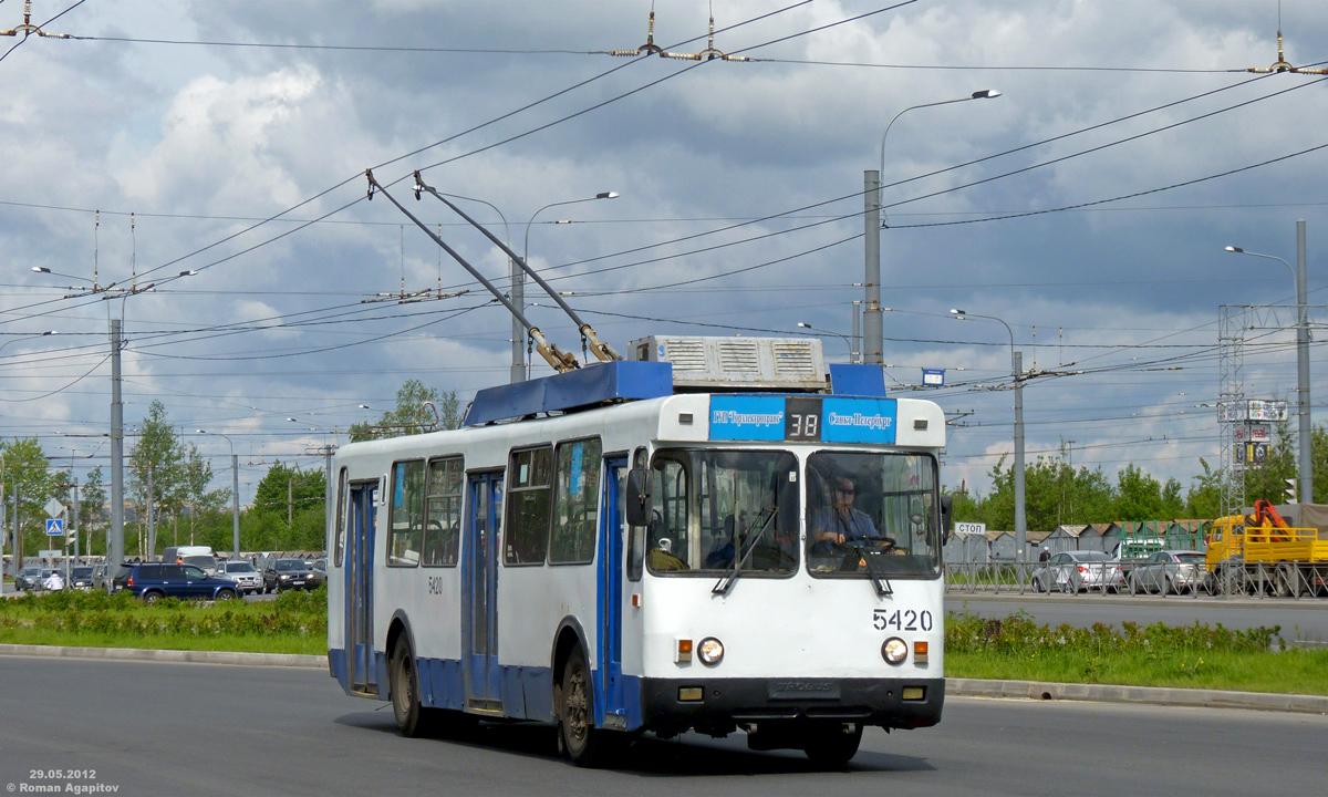 Санкт-Петербург. БТЗ-5276-04 №5420