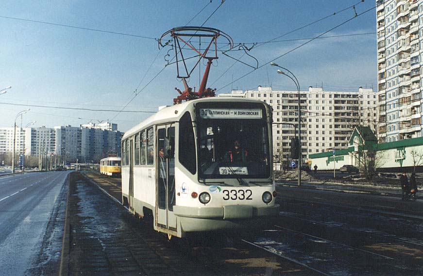 Москва. ТМРП-2 №3332