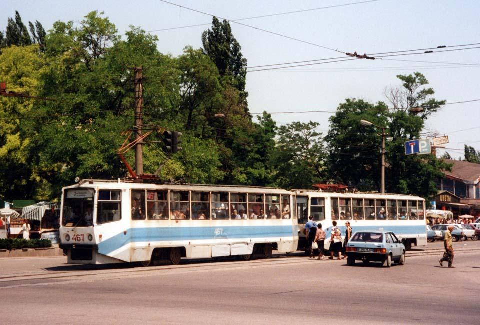 Кривой Рог. 71-608КМ (КТМ-8М) №466, 71-608КМ (КТМ-8М) №467