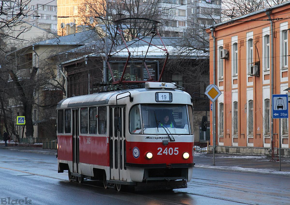 Москва. Tatra T3 (МТТА) №2405