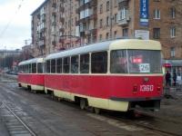 Москва. Tatra T3 (МТТЧ) №1360