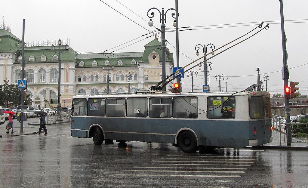 Хабаровск. ЗиУ-682Г00 №287