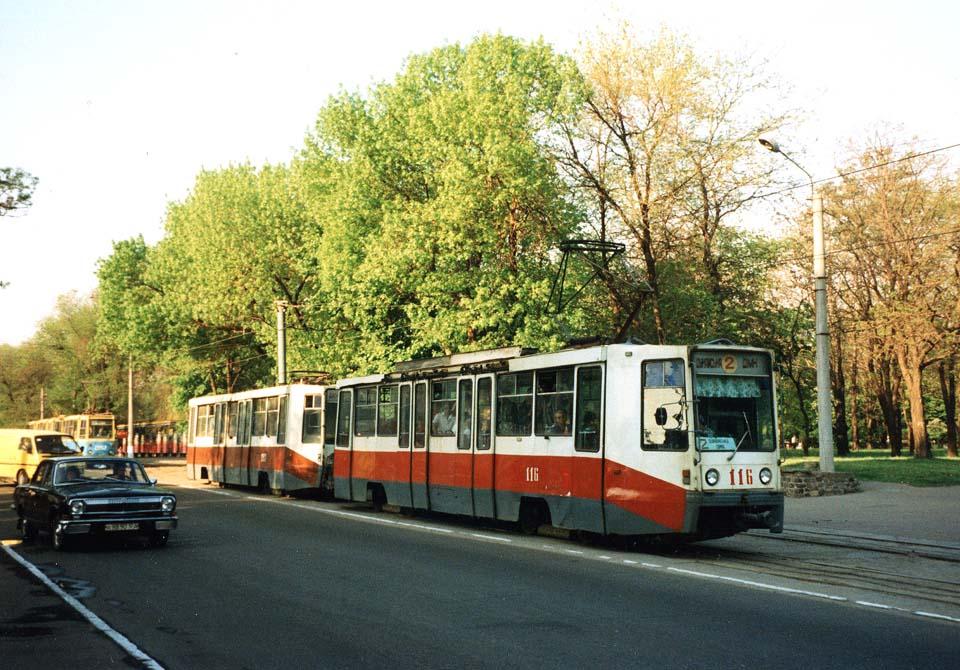 Каменское. 71-608К (КТМ-8) №103, 71-608К (КТМ-8) №116