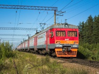 Приозерск. Электропоезд ЭТ2М-036