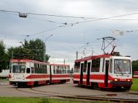 Санкт-Петербург. 71-147К (ЛВС-97К) №5083, 71-134К (ЛМ-99К) №0424