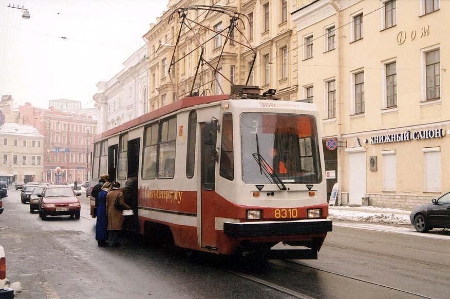 Санкт-Петербург. 71-134К (ЛМ-99К) №8310