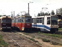 Ангарск. РВЗ-6М2 №046, 71-608К (КТМ-8) №188, 71-605 (КТМ-5) №138