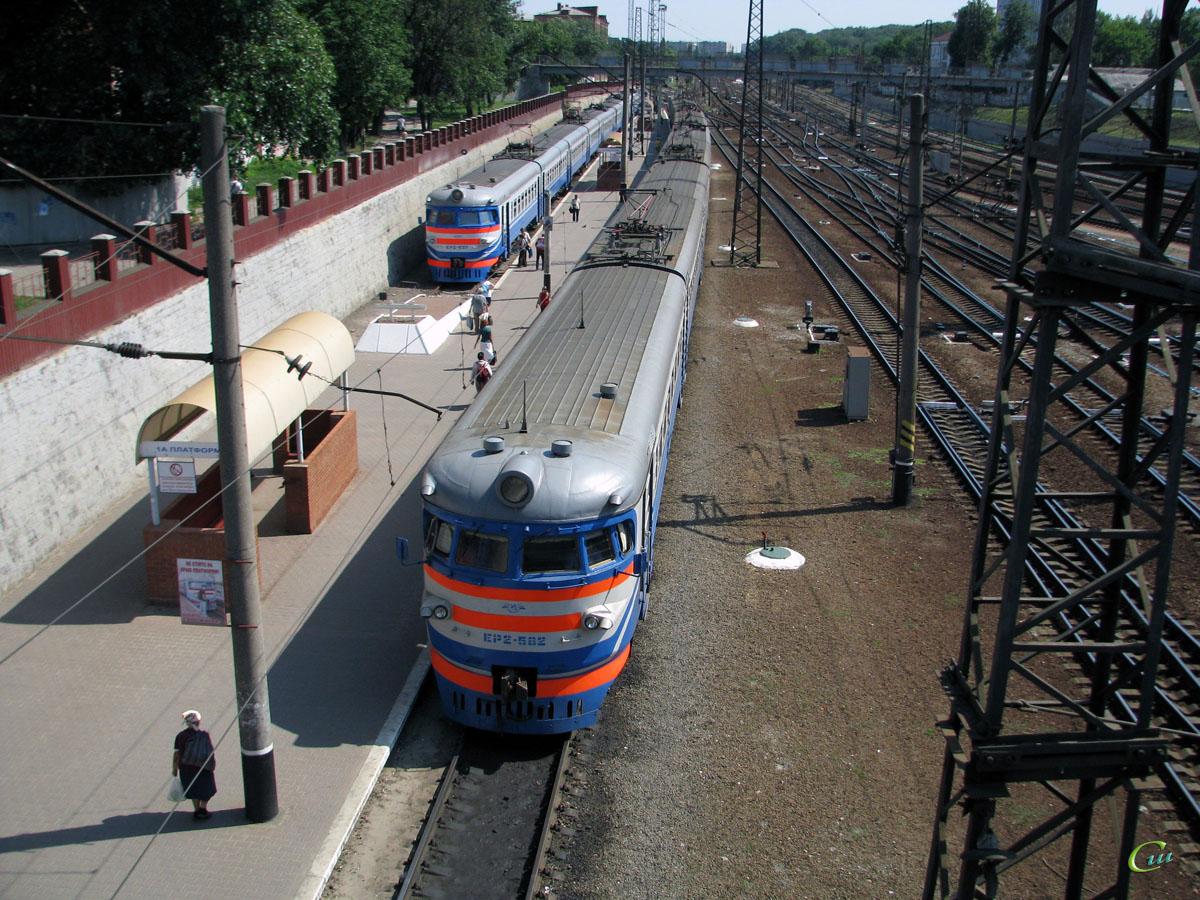 Харьков. ЭР2-537, ЭР2-582