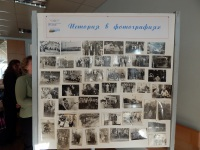 Гродно. Стенд с историческими фотографиями